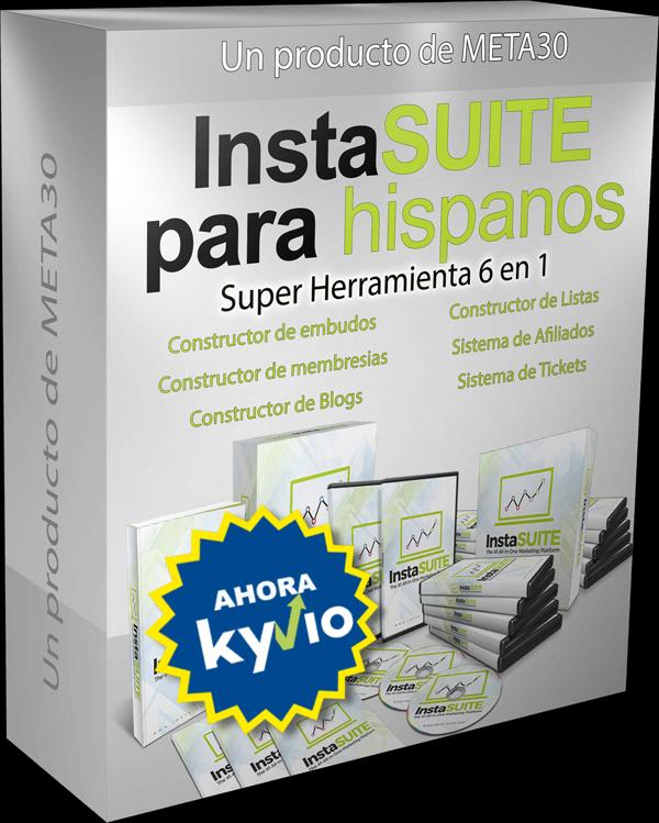 Kyvio InstaSuite en español